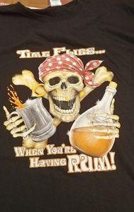 2XL mens RUM teeshirt